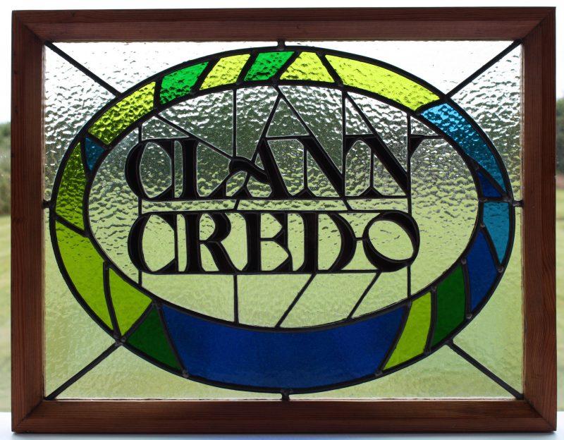 Clann Credo panel framed